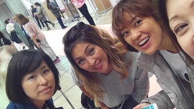 東京ネイルエキスポ2017でKyoko先生とYoko先生と