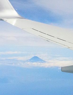 雲海と富士山。綺麗だったよ